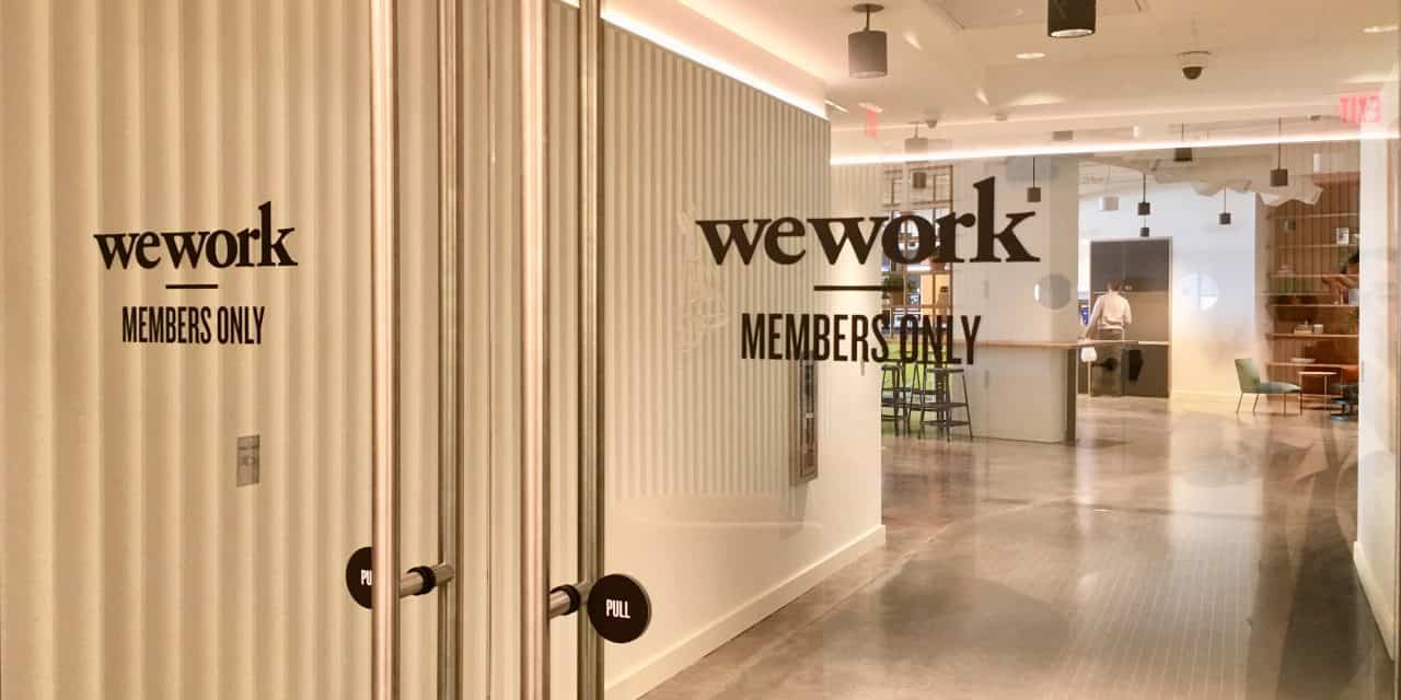 La société WeWork sauvée par un de ses actionnaires, la banque japonaise SoftBank