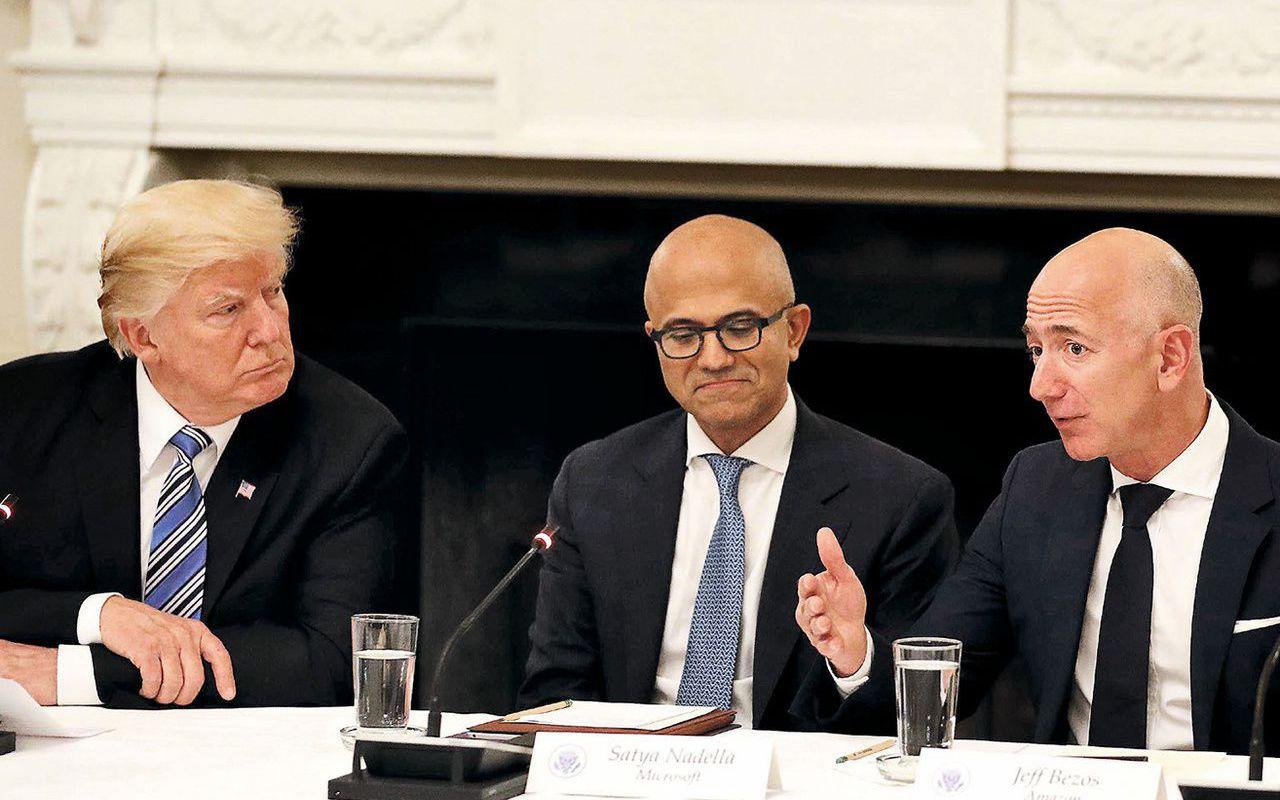 Amazon déclare avoir perdu un contrat militaire à cause de Donald Trump