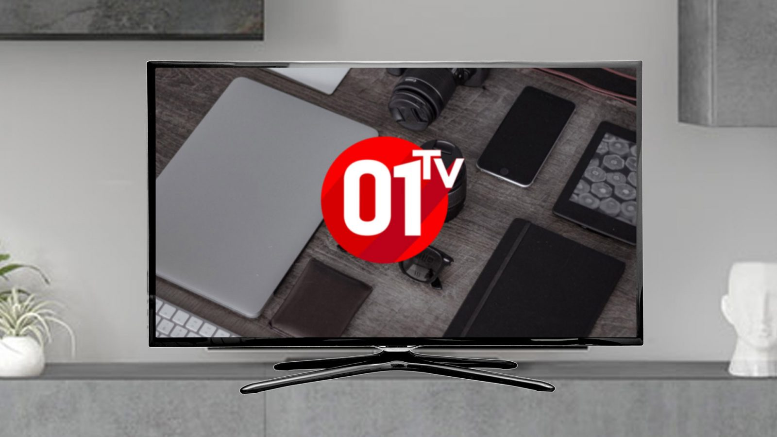 La chaîne 01TV commence à émettre ce lundi 6 janvier, à l'occasion du CES de Las Vegas