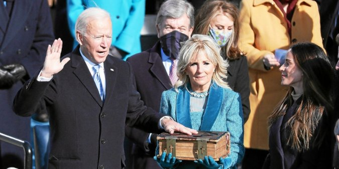 Joe Biden est officiellement le 46ème président des États-Unis d'Amérique