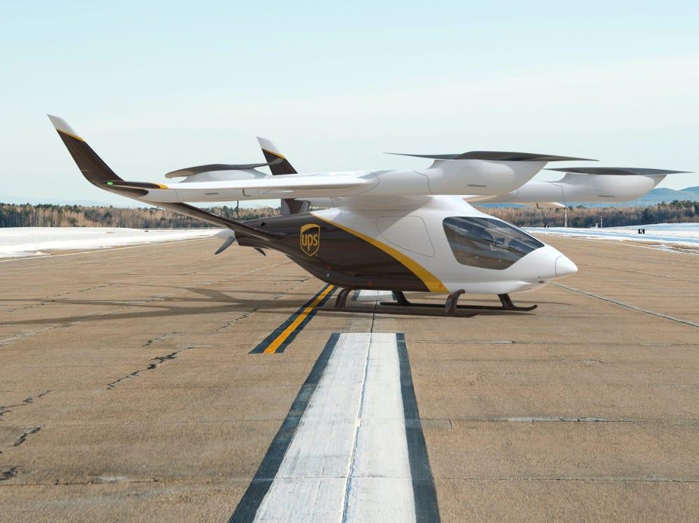 UPS livrera par les airs d'ici 2025