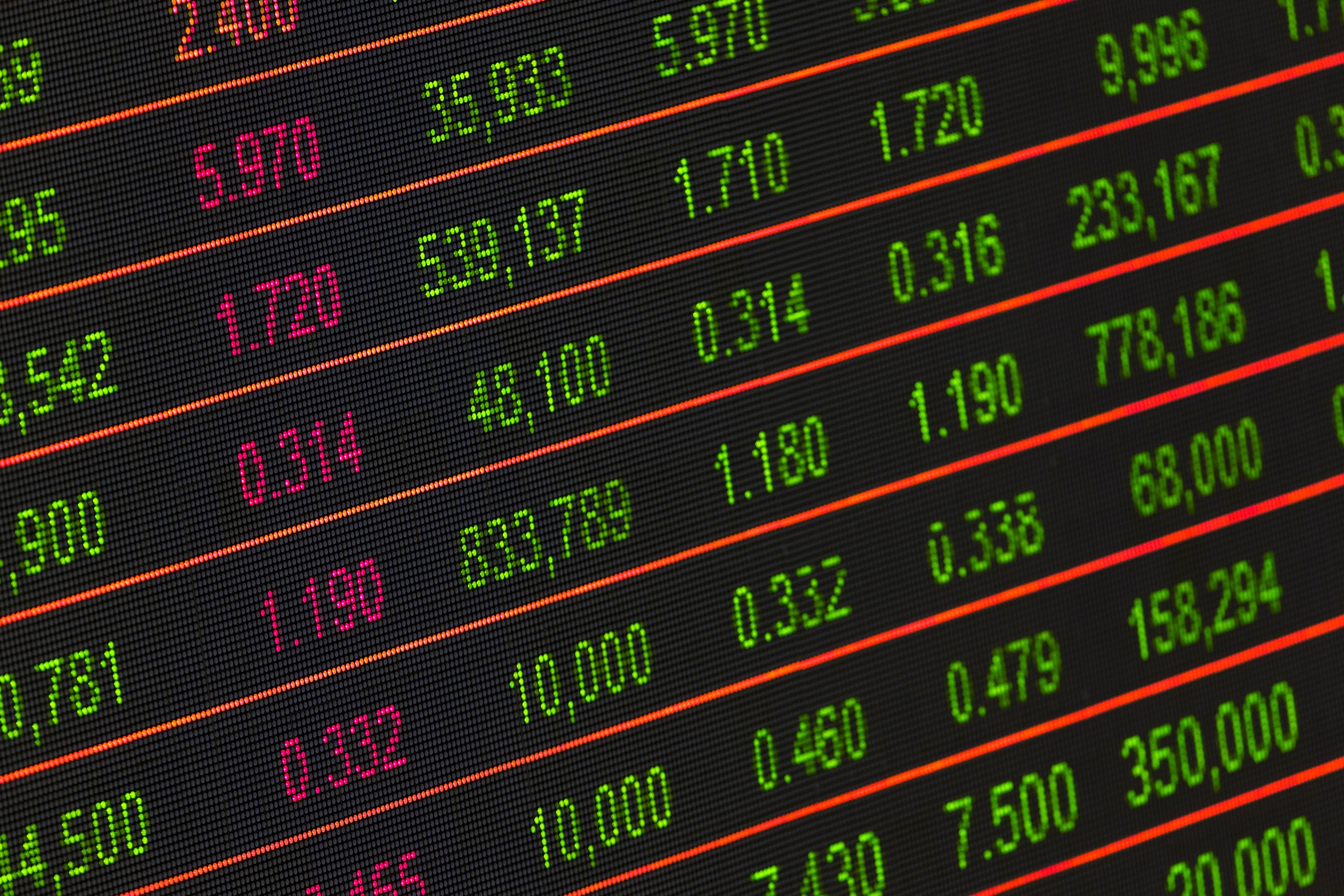 Le marché boursier mondial au plus haut