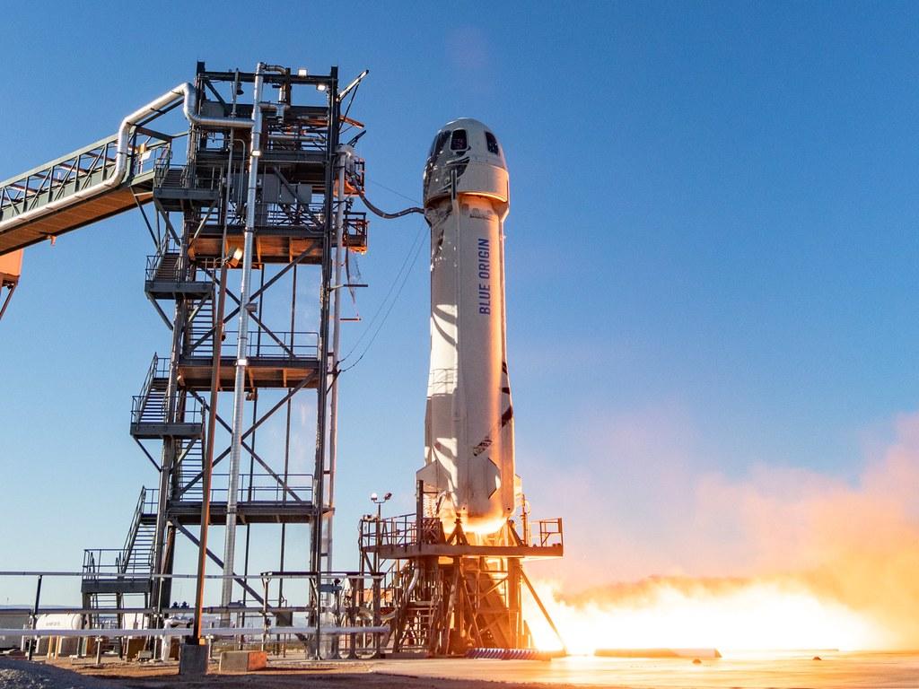 Jeff Bezos sera le premier voyageur spatial à bord de Blue Origin